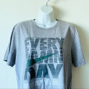 Nike • Every Damn Day Athletic Cut Gym Graphic Tee